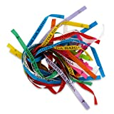 Bonfim: 25 original Bonfim Bänder, verschiedene Farben. Brasilianische Glücksbringer Wunschbänder. 3 Knoten = 3 Wünsche! Talisman. Wunschbändchen. Glücksbändchen.