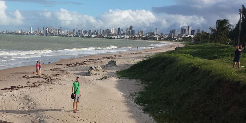 Joao Pessoa: Die grüne Stadt ist auch mal grau