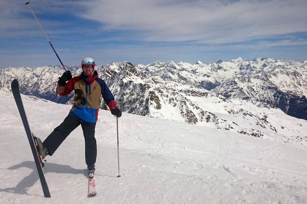 Skifahren in Soelden
