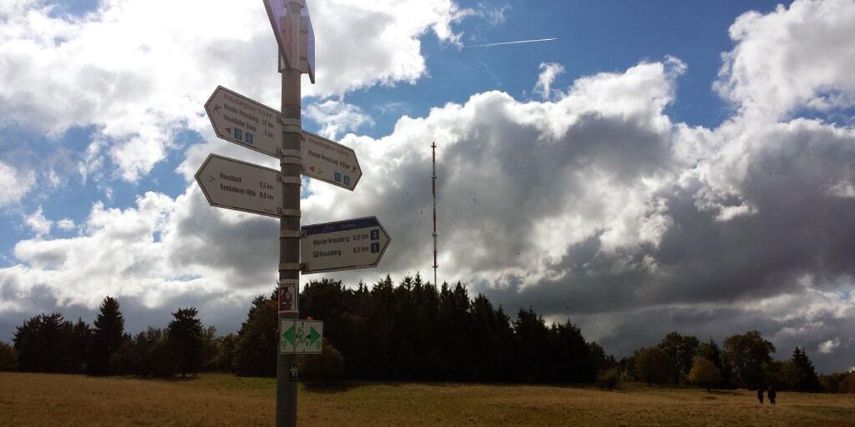 Kreuzberg in der Rhön: Wanderparadies und leckeres Klosterbier