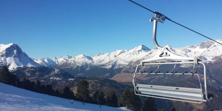 Skigebiet in Nauders
