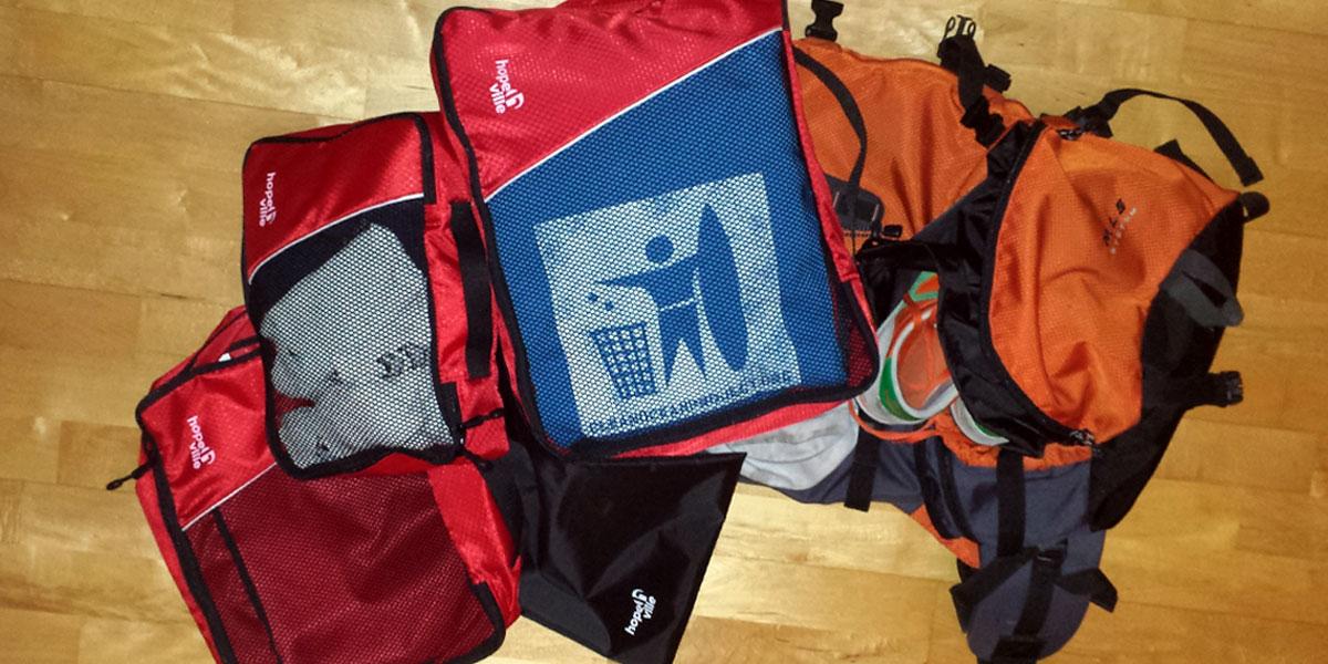 Produkttest: Stressfrei reisen mit den Kleidertaschen von Hopeville