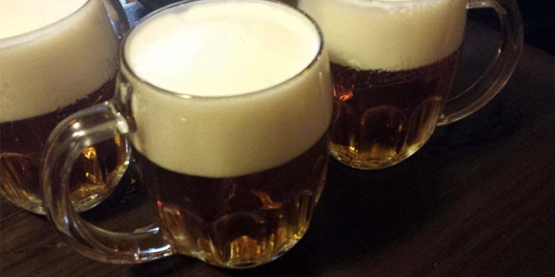 Bier in Prag