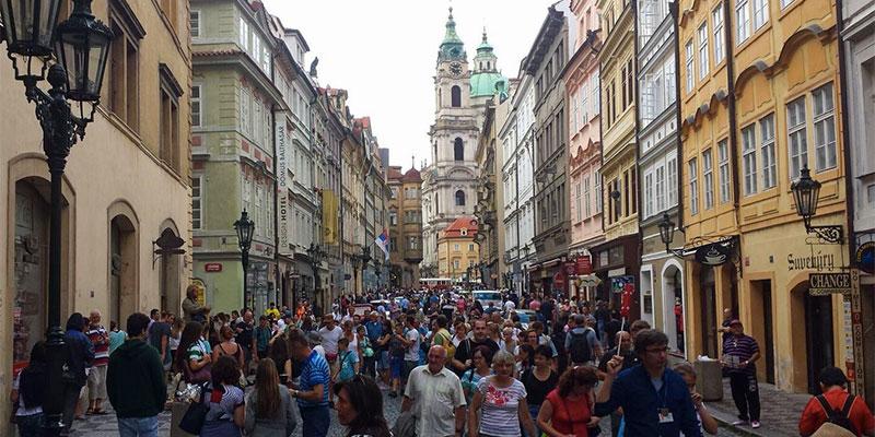 Wildes Treiben in Prag