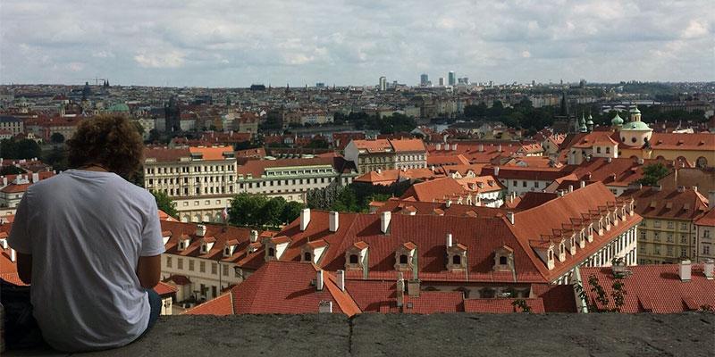 goldene Stadt Prag