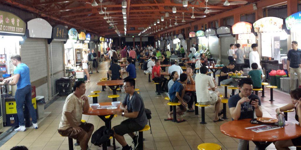 Essen in Chinatown