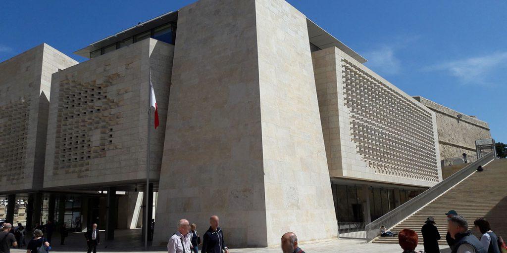Neues Parlament - Valletta