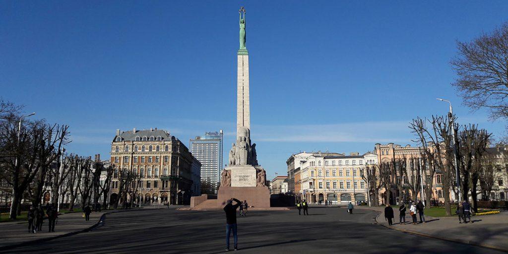 Freiheitsdenkmal-Lettland